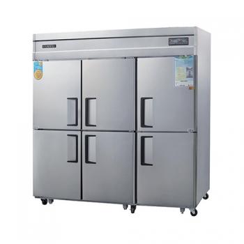 고급형 65박스 디지털 간접 냉각 냉동 1629L 올 스텐