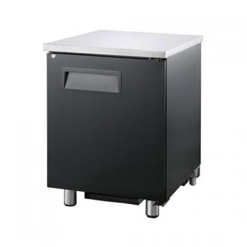 호프냉장고 테이블 간접 냉각 냉장 223L 1도어 상부 스텐