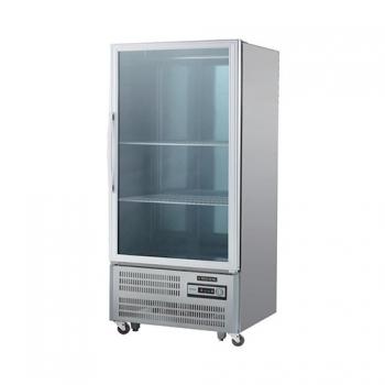 30박스 숙성고 아날로그 직접 냉각 냉장 650L 유리문