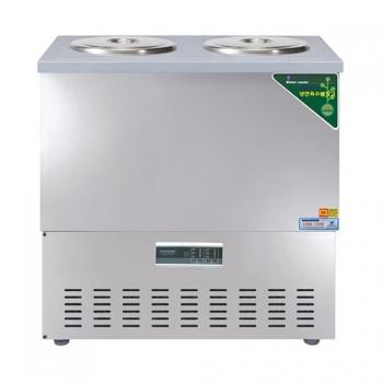 육수 2말 쌍통 디지털 웰빙 냉장고 76L 올스텐