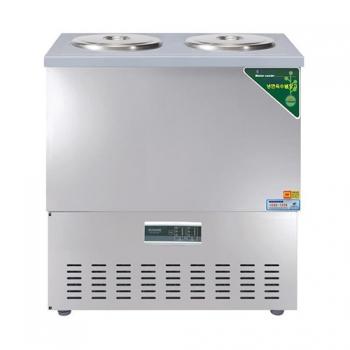 육수 3말 쌍통 디지털 웰빙 냉장고 110L 올스텐