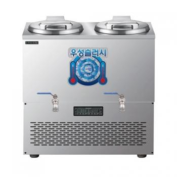 육수 쌍통 슬러시 냉장고 100L