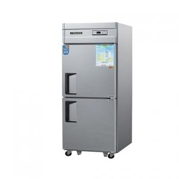 25박스 아날로그 직접 냉각 냉동 530L 내부 스텐
