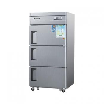 30박스 아날로그 직접 냉각 냉동 710L 3도어 내부 스텐