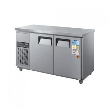 보냉테이블 1500 디지털 직접 냉각 냉동 185L 냉장 185L 메탈