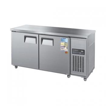 보냉테이블 1800 디지털 직접 냉각 냉장 238L 냉동 238L 2도어 메탈