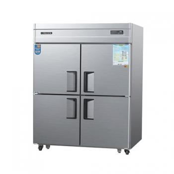45박스 디지털 직접 냉각 수직형 냉동 560L 냉장 560L 내부 스텐