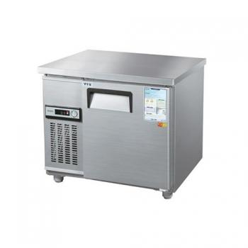 보냉테이블 900 아날로그 직접 냉각 냉동 153L 메탈