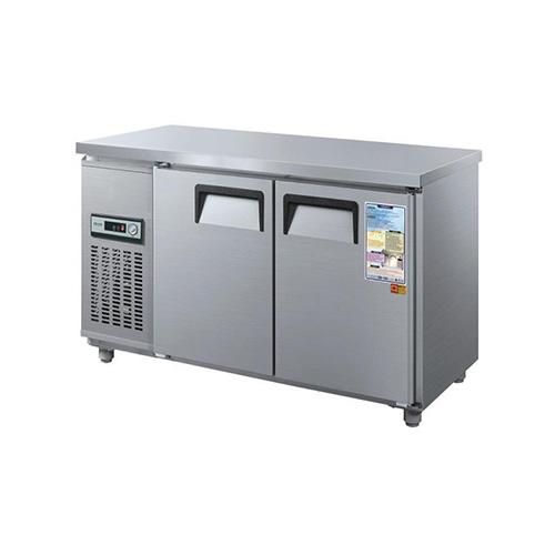 보냉테이블 1500 아날로그 직접 냉각 냉동 185L 냉장 185L 메탈