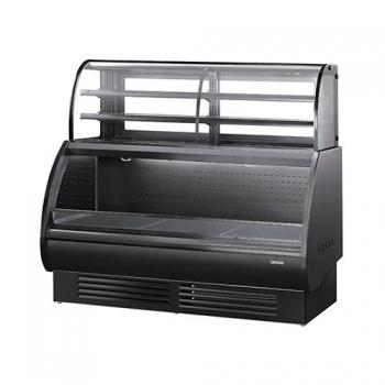 콤비 제과 쇼케이스 상부 3단 ½ 냉장 (블랙) 1500