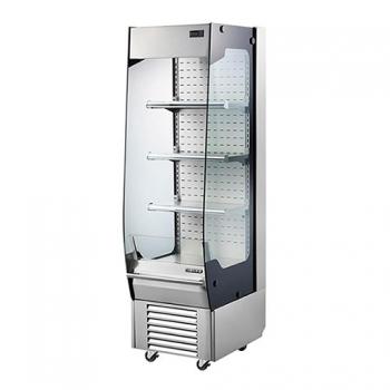 수직 오픈 냉장 쇼케이스 (스텐) 1740