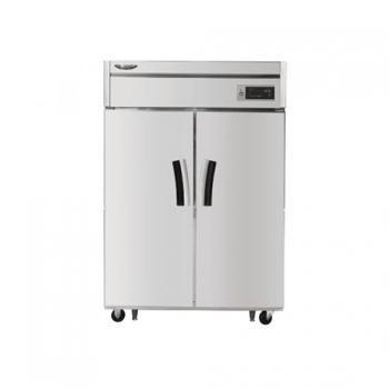 수직형 간냉 1100 장도어 반반 냉장 512.5L 냉동 512.5L