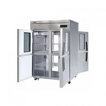 수직형 간냉 1100 양문형 냉장고 1045L (유리도어:2)