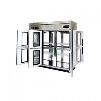 수직형 간냉 1700 양문형 냉장고1644L (유리도어:6)