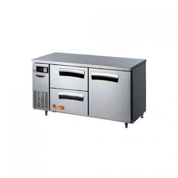 1500 간냉 냉장 테이블2서랍(좌),1스윙도어형(우)