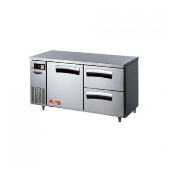 1500 간냉 냉장 테이블 1스윙도어(좌),2서랍형(우) 402L