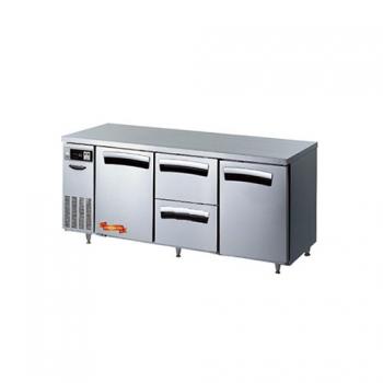 1800 간냉 냉장 테이블 2스윙도어(좌,우),2서랍형(중) 502L