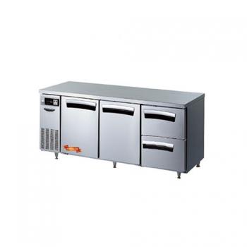 1800간냉 냉장 테이블 2스윙도어(좌,우),2서랍형(우) 502L