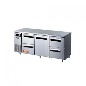 1800간냉 냉장 테이블 4서랍(좌,중),1스윙도어형(중) 497L