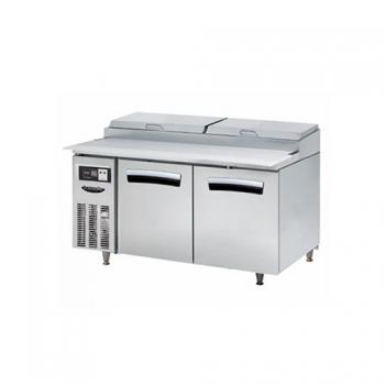 1500 간냉 토핑테이블 냉장고 412L
