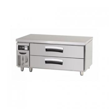 1200 간냉2단 서랍식 테이블 냉장고 192L