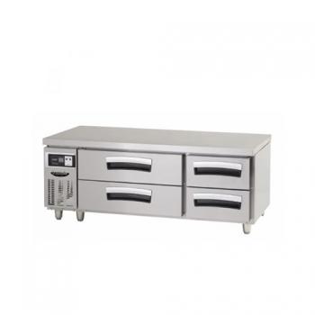 1500 간냉2단 서랍식 테이블 냉장고 265L