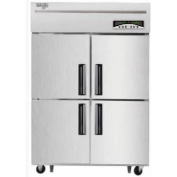 수직형 직냉식 45박스 냉장527L 냉동522L 내부스텐 외부메탈