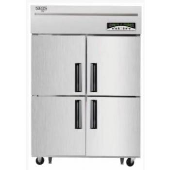 수직형 직냉식 45박스 냉장250L 냉동806L 내부스텐 외부메탈