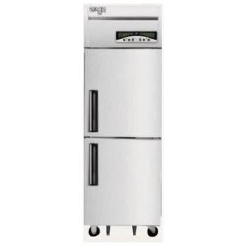 수직형 직냉식 25박스 냉장255L 냉동250L 내부스텐외부메탈