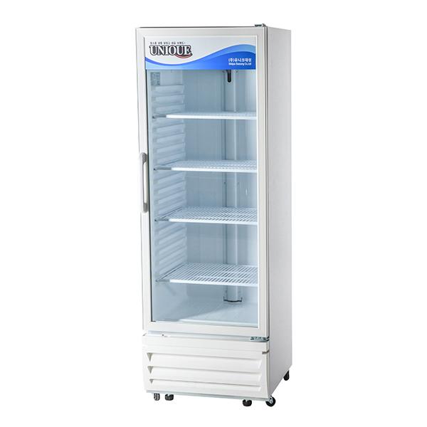 직접냉각방식 아날로그 수직형 컵 냉동쇼케이스 냉동 362L
