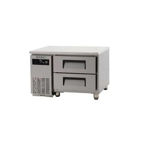 에버젠 간접냉각방식 테이블 900 낮은 서랍식 (2단) 냉장 127L