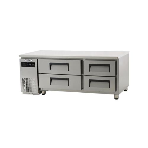 에버젠 간접냉각방식 테이블 1500 낮은 서랍식 (2단) 268L