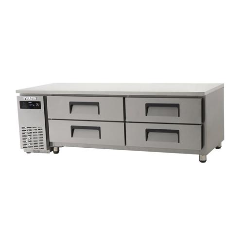 에버젠 간접냉각방식 테이블 1800 낮은 서랍식 (2단) 냉장 331L