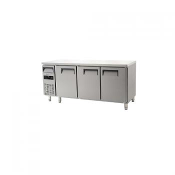 에버젠 직접냉각방식 냉장 테이블 1800 디지털 냉장 497L 3도어