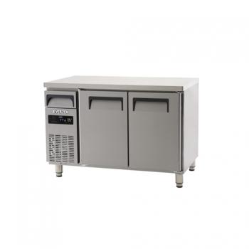 에버젠 직접냉각방식 냉동냉장 테이블 1200 디지털 냉동 135L 냉장 135L 2도어