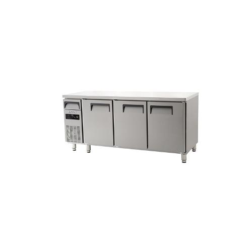 에버젠 직접냉각방식 냉동냉장테이블 1800 디지털 냉동 162L 냉장 324L 3도어