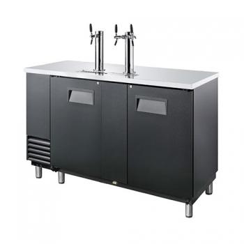 호프냉장고 디스펜서 간접 냉각 냉장 670L 2도어 상부 스텐 업소용